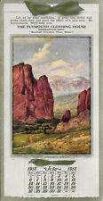 R. Atkinson Fox Signed Pike's Peak-Colorado Minneapolis Minn. Calendar July 1913