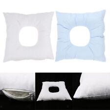 2pcs Washable Foam Massage Bed Face Down Rest Cradle Cushion Pillow Pad