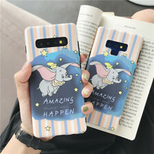 Cute Cartoon disney Dumbo soft case Cover for Samsung galaxy Note 10+ 8 S10+ S9+