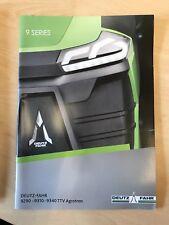 Deutz Fahr 9 Series TTV Tractors Sales Brochure