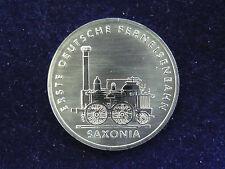 Eisenbahn 5 Mark Gedenkmünzen der DDR