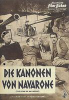 """IFB Illustrierte Film Bühne Nr. 05850 """" Die Kanonen von Navarone """""""