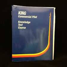 KING Commercial Pilot Knowledge Test Course Book Only Paperback