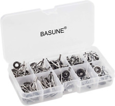Basune Spinning Rod Guides Tip Ceramic Guide with Eyelets, Fishing Rod Guide Tip
