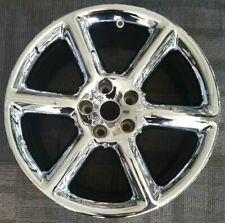 "18"" NISSAN 350Z FACTORY CHROME OEM ALLOY WHEEL RIM 2003-2005 18x8 REAR WHEEL"