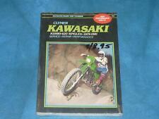 Clymer Kawasaki KDX80 420, 1979-1981 Service Repair Manual K446