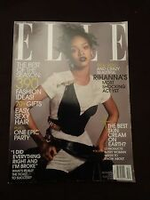 ELLE MAGAZINE - Rihanna - Fashion - DECEMBER 2014