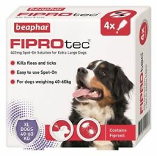 Beaphar FIPROtec Flea Treatment x4 Extra Large Dog