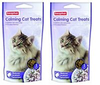 2 pack Beaphar Calming Tablets / Treats Reduces Stress in Dogs and Cats