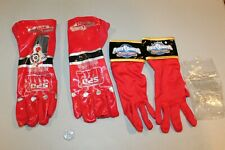 UNUSED Power Rangers Mystic Force Red Ranger & SPD electronic Costume Gloves NM