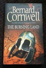 1st Ed HB VGC, Burning Land, Last Kingdom, Warrior, Saxon #5 Bernard Cornwell,