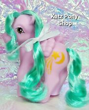 HQG1C Vintage G1 MLP Style Custom 💜 HIGH HOPES 💜Glow in Dark Date Night Pony!