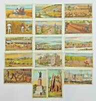 W.D.& H.O. Wills Overseas Dominions Australia - Lot of 16 Cigarette Cards
