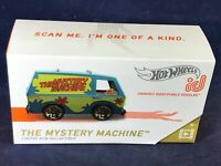 D4-68 HOT WHEELS ID - THE MYSTERY MACHINE - ONE OF A KIND! - NEW IN BOX