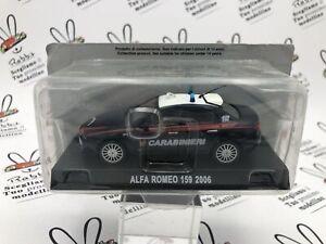 """DIE CAST """" ALFA ROMEO 159 2006 """" CARABINIERI SCALA 1/43"""