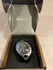 NIB Nike Triax Swift Analog Sport Watch Silver/Black Athletic Run - WR9005-001