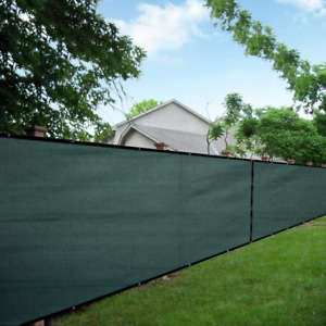 Mesh Fence Privacy Screen 88% Blockage Windscreen Mesh Cover Light Pass Through