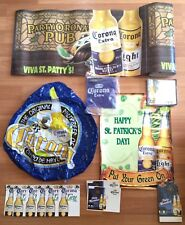 CORONA BEER COOLER STICK CLING ON BASE WRAP BLOW UP TABLE TENT POSTER HUGE LOT