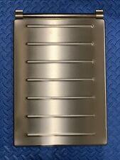 BOSCH/GAGGENAU STAINLESS COMPLETE BURNER COVER #00465695 FOR COOKTOPS,see pics.