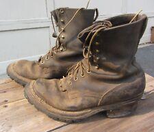 White's Boots Size 10 E Smoke Jumper Smoke Jumper Vibram Soles