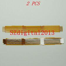 2PCS/Viewfinder Eyepiece LCD Flex Cable For Sony HDR-FX7E HVR-V1J V1U V1N V1P