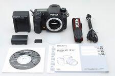 【MINT+++ Shutter count 4573】Pentax K-3 II Digital SLR Camera from Japan #574