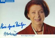 WDR *Die Arnheiner* Autogrammkarte # von MARIE-AGNES REINTGEN