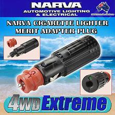 NARVA HVY DUTY CIGARETTE LIGHTER AND MERIT ADAPTER CONNECTOR PLUG HELLA 82110