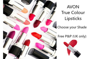 AVON LIPSTICK CLEARANCE! Choose your Shade FACTORY SEALED **FREE P&P** MULTIBUY