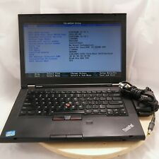 "Lenovo ThinkPad T430 14"" Laptop, Core i5-3320M 2.6GHz, 4GB RAM, 320G HDD, Win10"