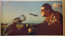 "Top Gun GIANT WIDE 42"" x 24"" Movie Poster Tom Cruise Air Force Jet Motorcycle"