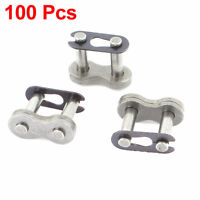 """100 Pcs 428H 1/2"""" Pitch Heavy Series Motorcycle Chain Connecting Joining Link"""