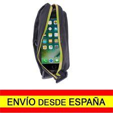 Riñonera Deportiva Doble Bolsa Cintura Deporte Running Footing NEGRO d17