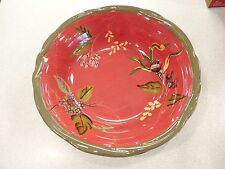 2 Tracy Porter Dream Delicious Octavia Hill Collection Cereal Soup Serving Bowls