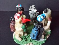 Assorted Dogs Golfing Votive Candle Holder Continental Golf True Friends