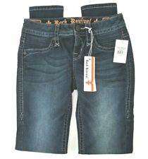 NEW Rock Revival Womens Size 24 Skinny Janeil Stretch Dark Wash Denim Jeans NWT