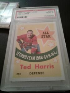 1969-70 opc 219 Ted Harris AS Psa 9