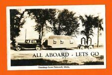 Postcard Plainwell Michigan