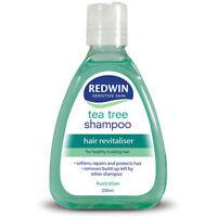 Redwin Tea Tree Shampoo 250ml - PH Balanced Formula Hair Revitaliser Sensitive