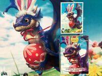 Dragon Shield Easter Dragon Matte Card Protector Sleeves Limited Art 100ct MTG