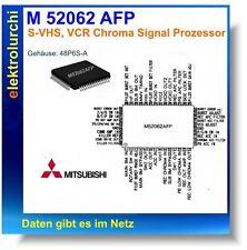 M52062afp-S-VHS VCR Chroma segnale processore, SMD IC so48, MITSUBISHI, 1st.