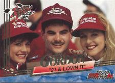 1993 Wheels Rookie Thunder Platinum Parallel Jeff Gordon #97 21 & Lovin It