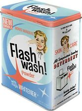 Nostalgic-Art-provisión lata L-Flash Wash
