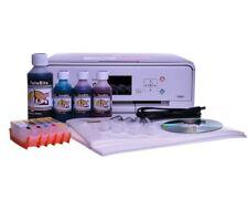 EDIBLE PRINTER KIT - refillable cartridges, edible ink,50 wafer paper,templates