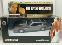 BOXED Corgi 04801 James Bond 007 Aston Martin Volante Car The Living Daylights