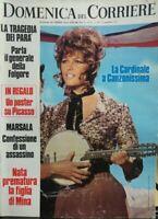 DOMENICA DEL CORRIERE N.47 1971 CLAUDIA CARDINALE MINA