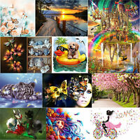 Full Drill DIY 5D Diamond Painting Animal Embroidery Cross Crafts Stitch Kit Art