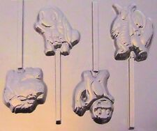 Pokemon & Friends Chocolate Lollipop Candy Mold #292 - NEW