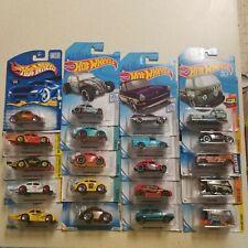 Lot of 25 Hot Wheels VW Volkswagen cars Kool Kombi,Checkmate,Baja and more LOT#1