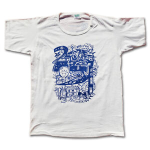 2 SKINNEE J'S Change The World Thin Collar Men's White T-Shirt by STAY VOCAL